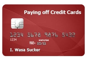 Tips for paying off credit cards