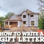 how to write a gift letter