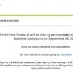 Perkstreet Financial Rewards Checking Closing Their Doors In September. Are Rewards Debit Cards Doomed?