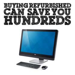 buying refurbished saves you money
