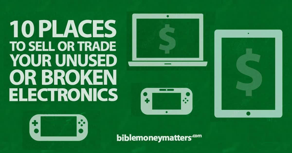 places that take broken electronics