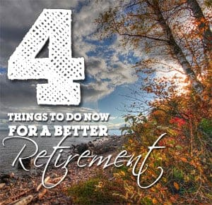 things to do for a better retirement