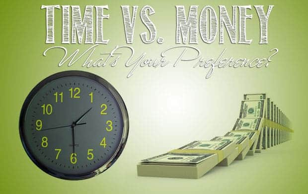 Time versus money