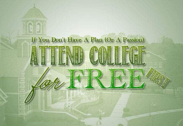 attend college for free
