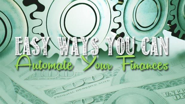 easy ways to automate finances
