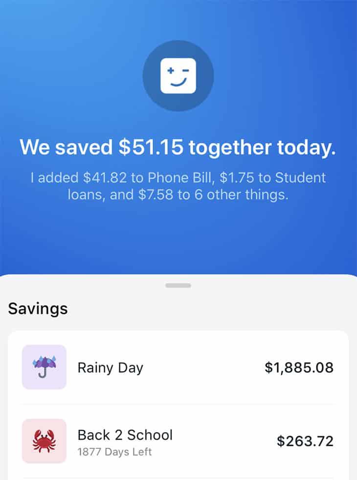 Digit savings account balance
