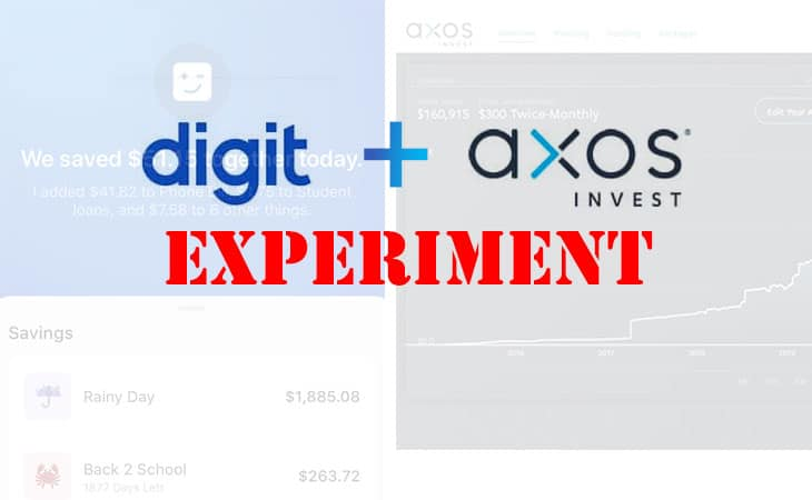 Digit + Axos Invest experiment