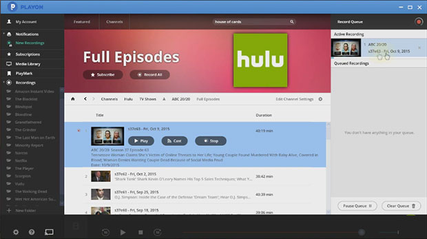 PlayOn Online DVR And Video Streaming Software Review
