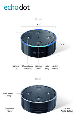 Amazon Echo Dot Review The Tiny Budget Minded Voice Assistant