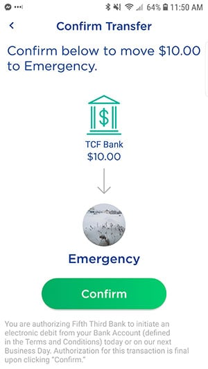 The Dobot App - Transfer Money