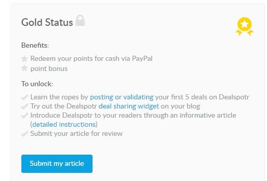 dealspotr gold influencer