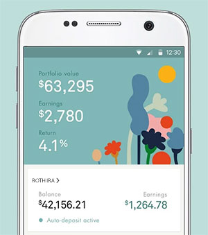 Wealthsimple mobile app