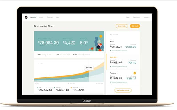 wealthsimple dashboard
