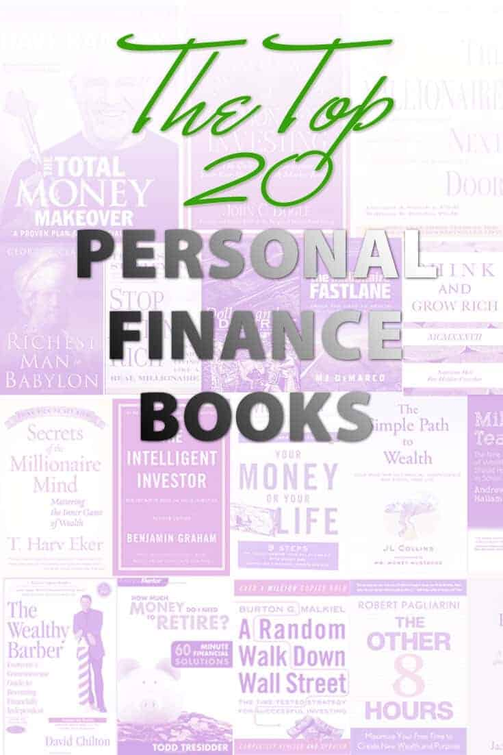 The Top 20 Personal Finance Books To Help You Improve Your Finances Today