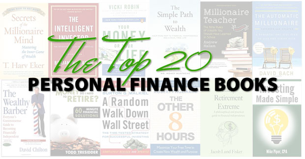 the top 20 personal finance books to help you improve your finances