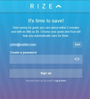 Rize Money Review Signup
