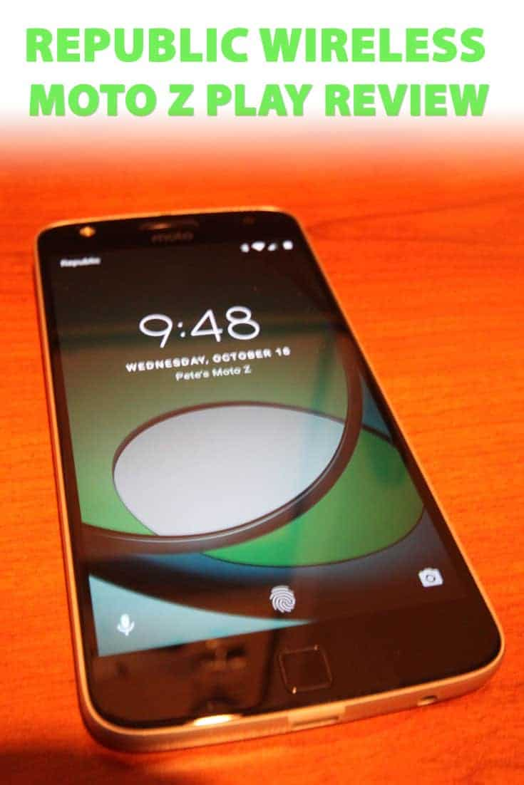 If you're looking for a new mobile provider I'd highly recommend checking out the Motorola Moto Z Play via Republic Wireless. Here's why you won't regret it.