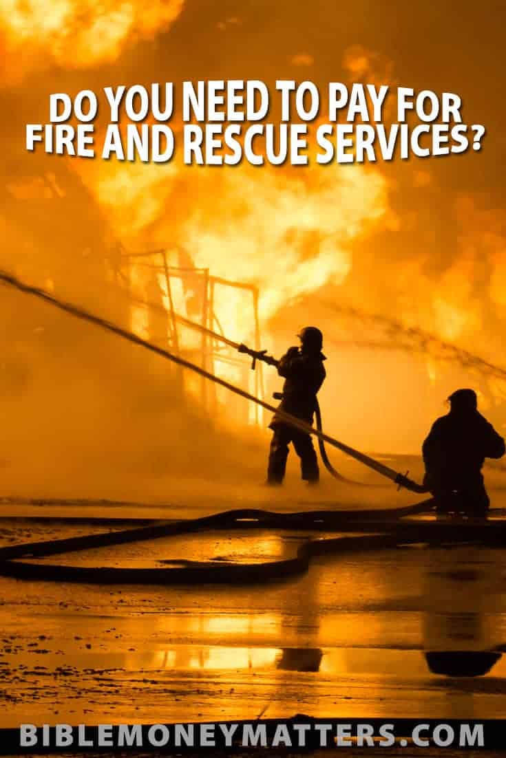 Do your property taxes cover fire and rescue services, or do you have to pay out of pocket for those services as a subscription? Here's how to find out.
