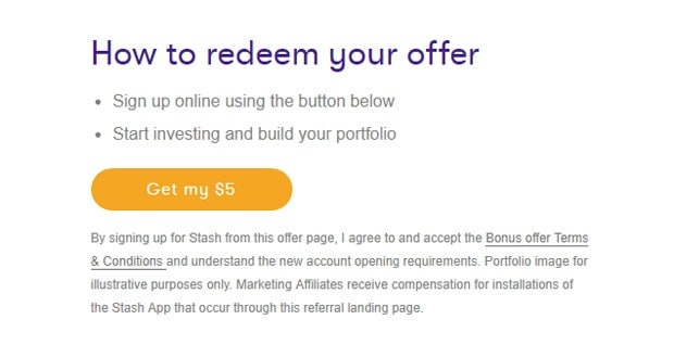 Stash Invest Review - $5 Bonus
