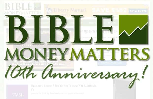 Bible Money Matters 10th Anniversary!
