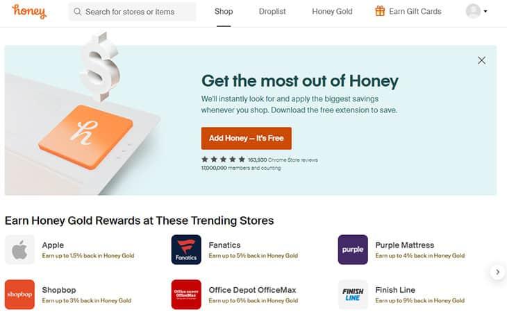 Honey savings extension review