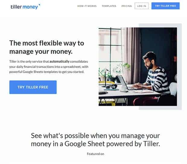 Tiller Money Automated Budget Spreadsheet Review