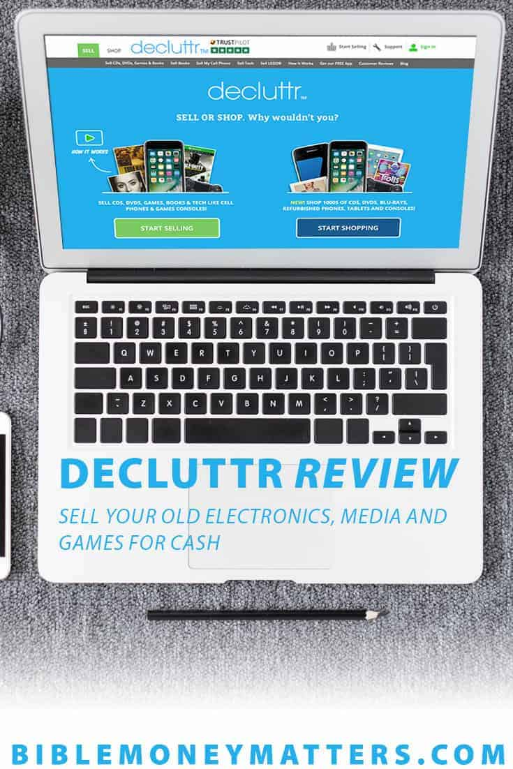 Decluttr is a website and app that can turn your old electronics, books,  media and even Legos into cash. Here's a review of Decluttr.