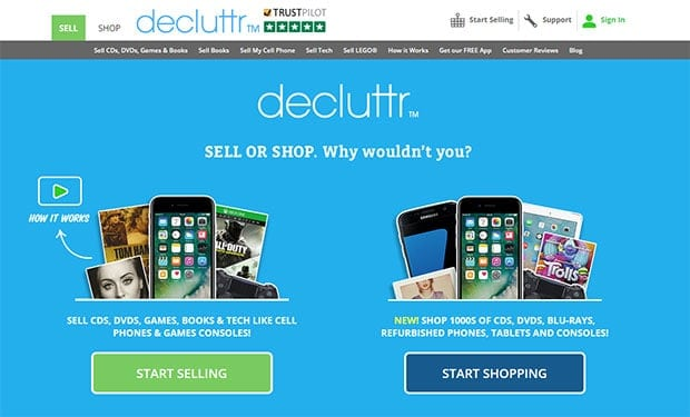 Decluttr review - buy stuff for less