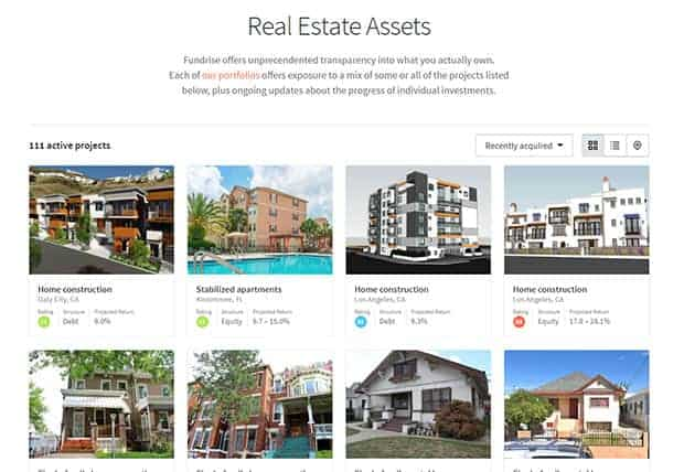 Fundrise Review Real Estate Assets