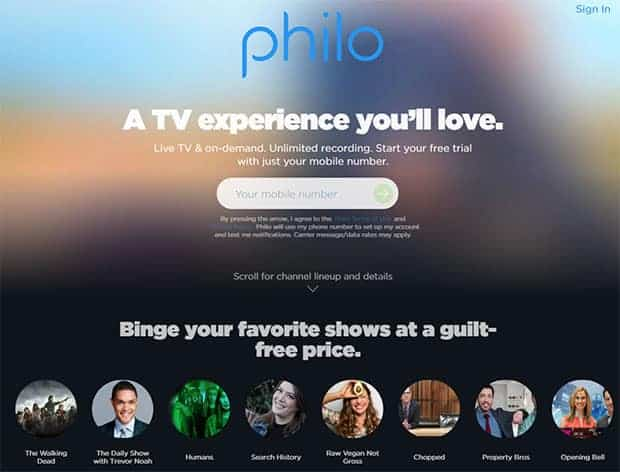 Philo TV Review