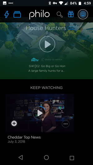 Philo TV Review - Mobile Site