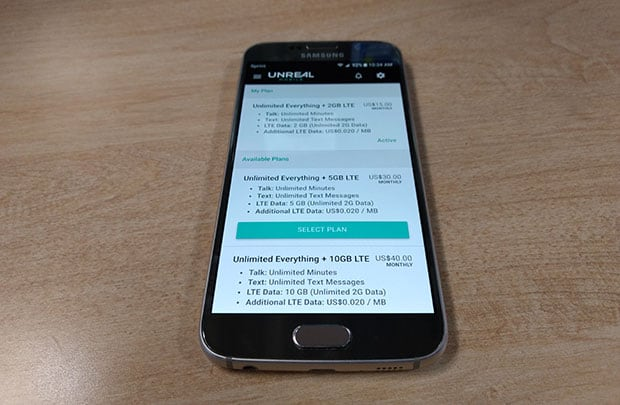 Unreal Mobile Review - Samsung Galaxy S6 Unboxing