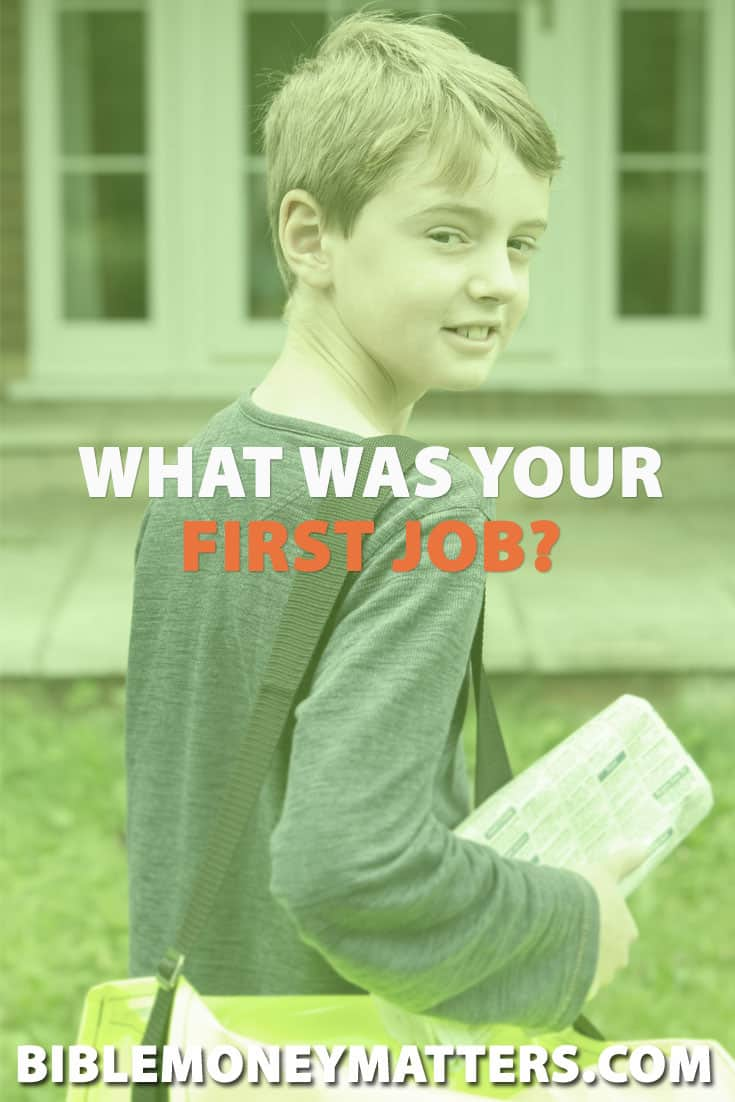 What was your first job, side hustle or attempt at making money? Did it help to mold your thinking of hard work, and shape who you are today?