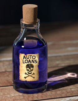 toxic debt to avoid - auto loans