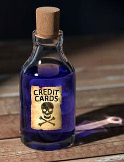 toxic debt to avoid - credit cards and HELOC