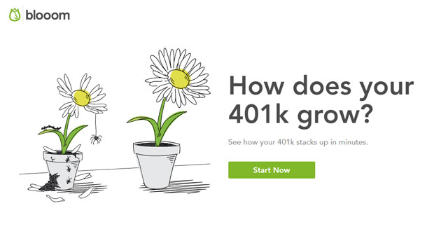 Blooom Review - 401k Checkup