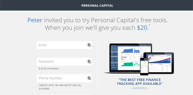 Free Gift Cards from Personal Capital