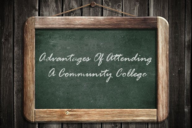 The Advantages Of Attending Community College