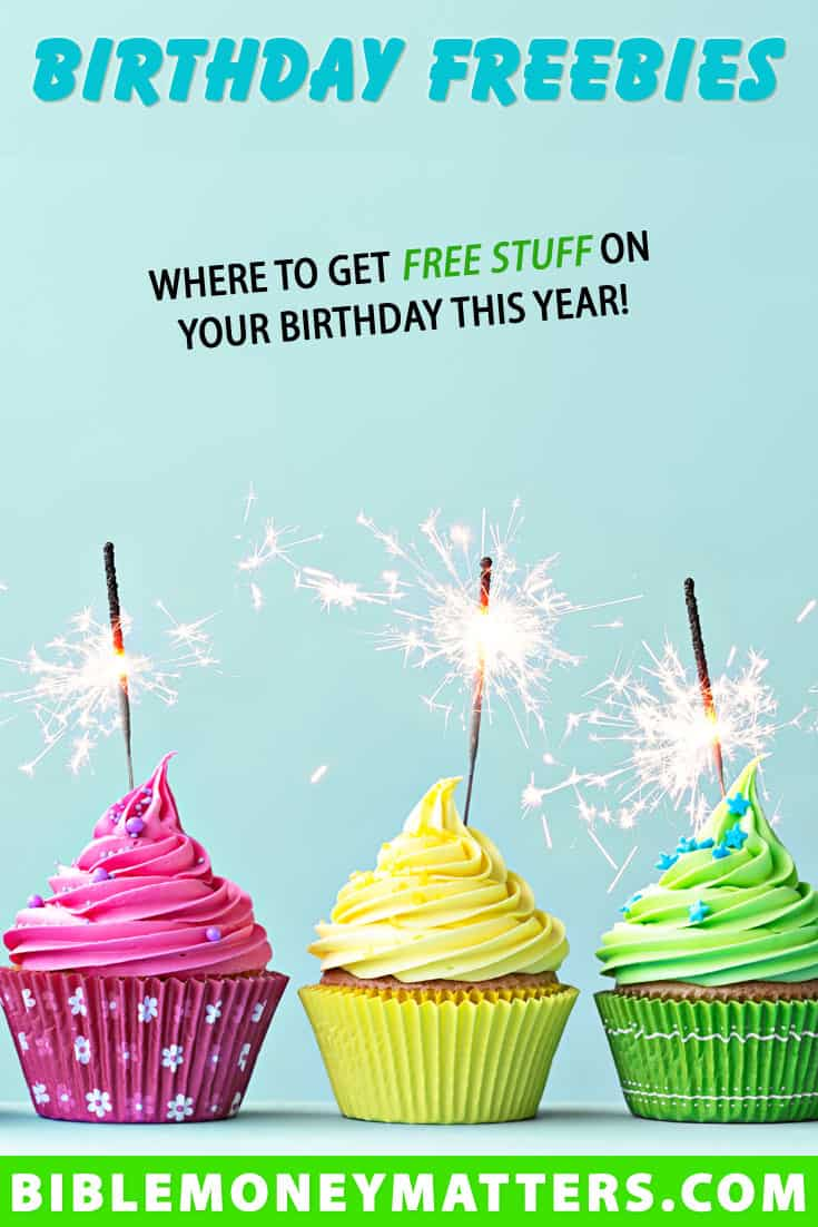 Celebrating your birthday is fun, but it's even better when you get free stuff. Here's a list of 150+ birthday freebies that you can get this year.