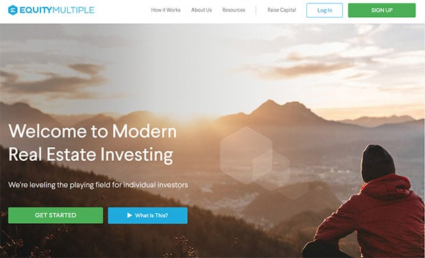 EquityMultiple Review - Website