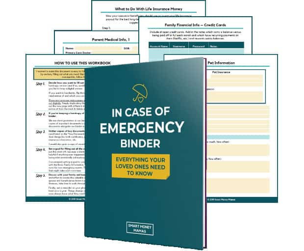 In Case Of Emergency Binder Review