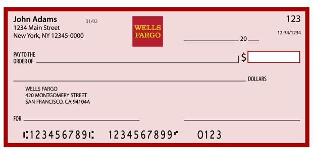 bank routing transit number - Wells Fargo