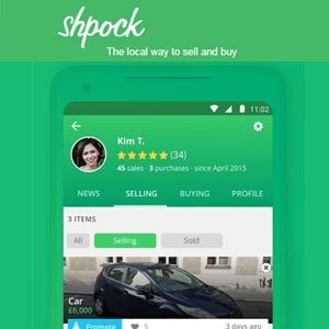 Best Selling Apps - Shpock