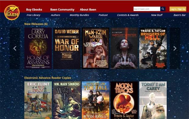 Lire des livres gratuits en ligne - Baen