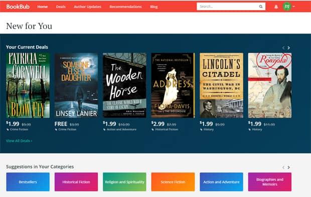 Lire des livres gratuits en ligne - BookBub