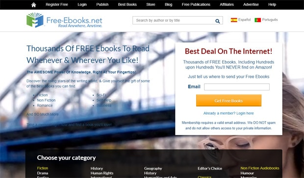 Read Free Ebooks Online - Free-Ebooks.net
