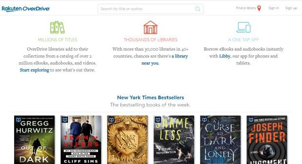 Lire des livres gratuits en ligne - Rakuten Overdrive