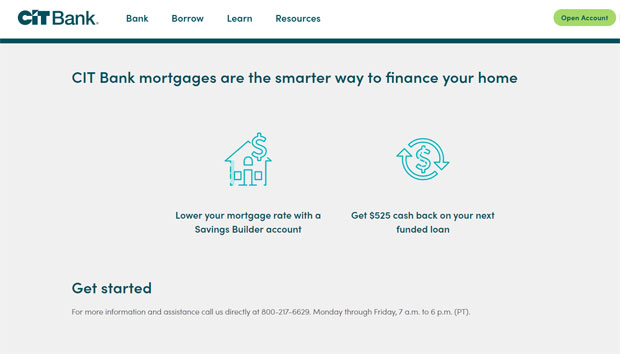 CIT Bank Review - Home Loans