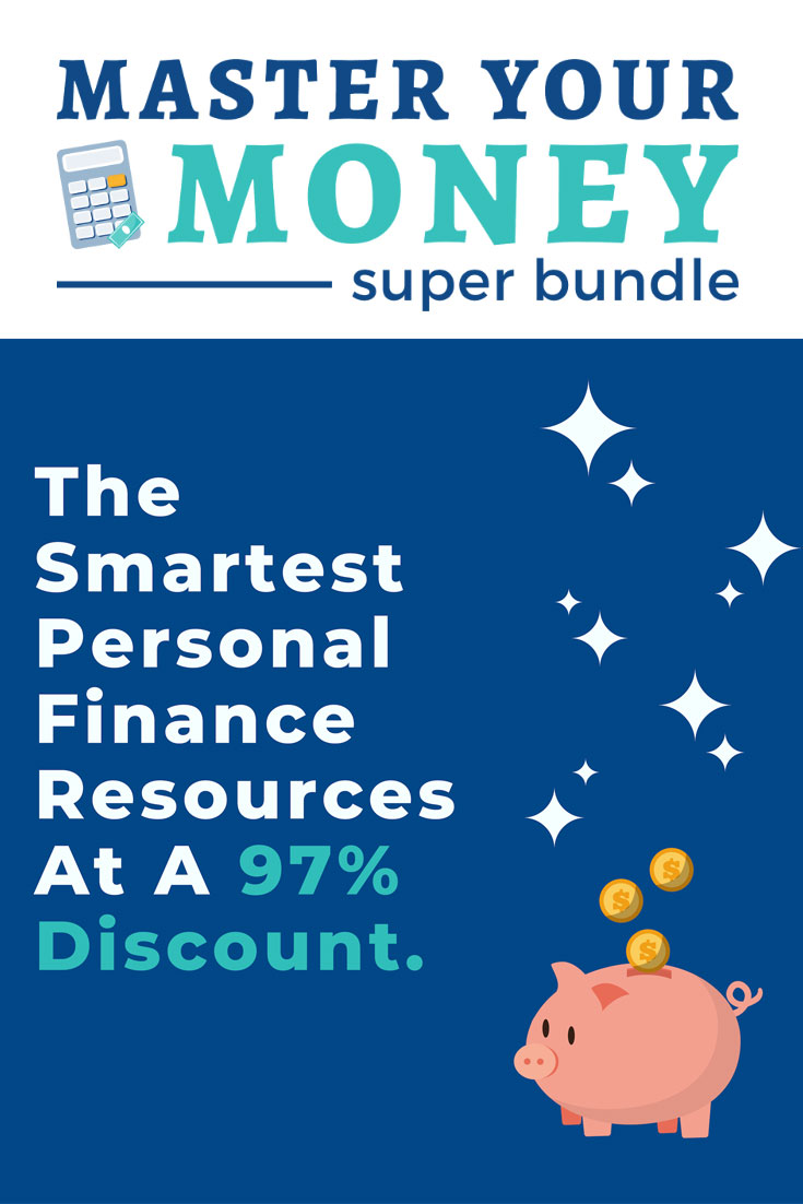 The Master Your Money Super Bundle is a huge collection of financial tools, ebooks and courses, all at a 97% discount of their combined retail prices.