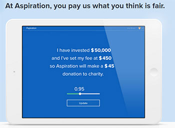 Aspriation Bank Review - Pay What Is Fair Pricing Model